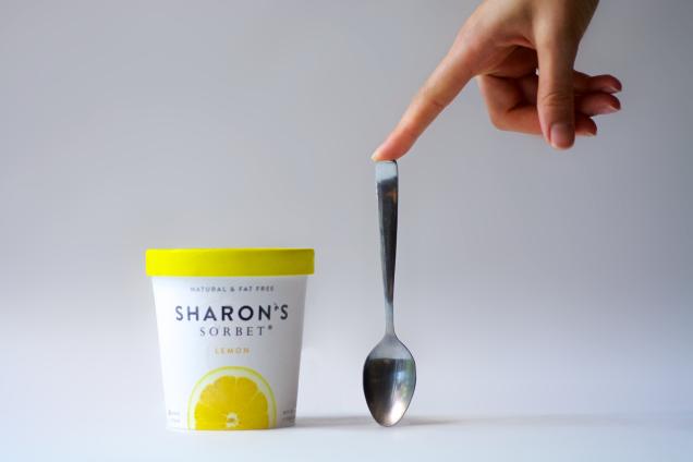 Sharon's Lemon Sorbet